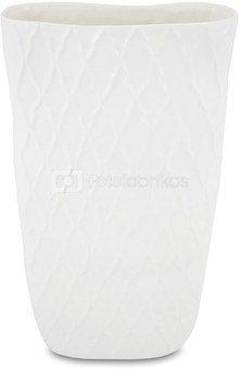 Vaza keramikinė balta 40x22x10 cm 109708