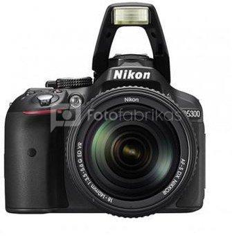 Nikon D5300 + 18-140mm VR
