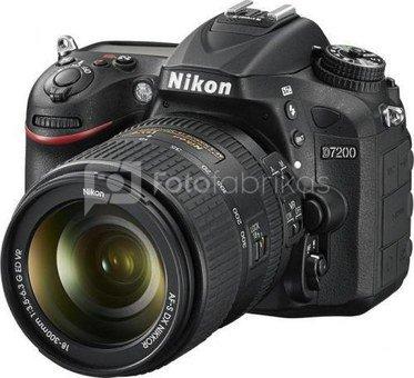 Nikon D7200 + 18-300mm VR