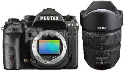 Pentax K-1 + 15-30mm D FA
