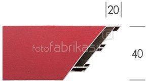 Veidrodis 40*50cm (išorė 47,5x57) su metalo rėmu 1101092