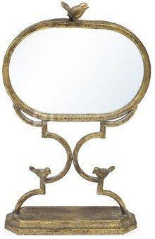 Veidrodis 51,5x32,5x11,5 cm metaliniame stove aukso sp. 101054