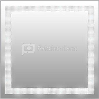 Veidrodis su dekoruotu kraštu M473 H:50 W:50 D:4 cm