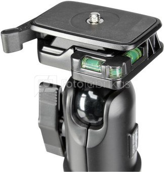 Velbon UT 63 D inkl. QHD-63 D incl. Velbon Teeny Pod II