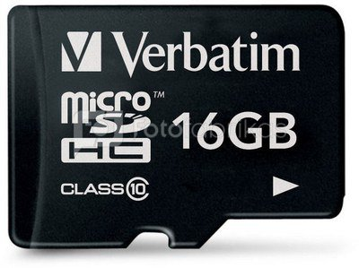 Verbatim microSDHC 16GB Class 10
