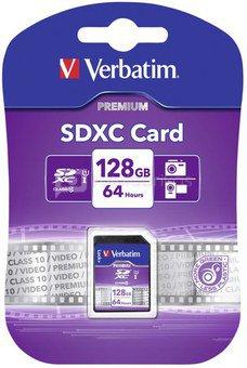 Verbatim SDXC Card 128GB Class 10