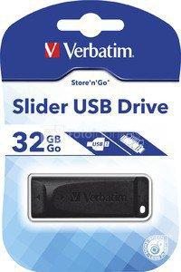 Verbatim Store n Go Slider 32GB USB 2.0