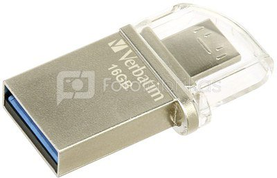 Verbatim Store n Go OTG 16GB Micro Drive USB 3.0