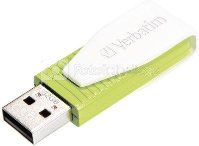 Verbatim Store n Go Swivel 32GB USB 2.0 green