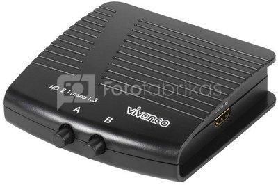 Vivanco switch HDMI 2-port (25349)