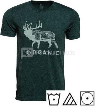 Vortex Organic Elk T-shirt Size L