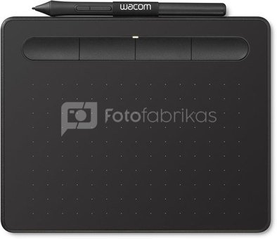 Wacom graphics tablet Intuos S, black