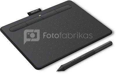 Wacom graphics tablet Intuos S, черный