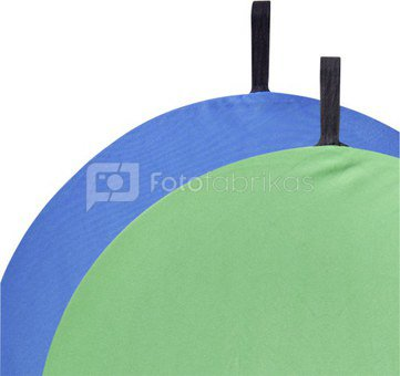 walimex 2in1 Foldable Background blue/green, 60cm