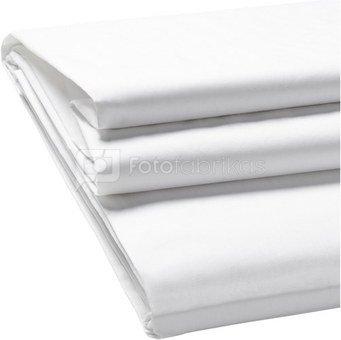Walimex Cloth fonas 2,85x6m, Baltas