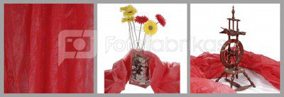 walimex Cloth Background light, 3x6m red