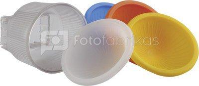 walimex Flash Diffuser f. Canon Canon 550 EX/580 EX, 5pcs.
