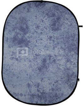 walimex Foldable Background blue batik, 146x200cm