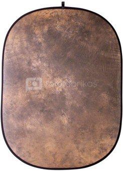 walimex Foldable Background brown batik, 146x200cm