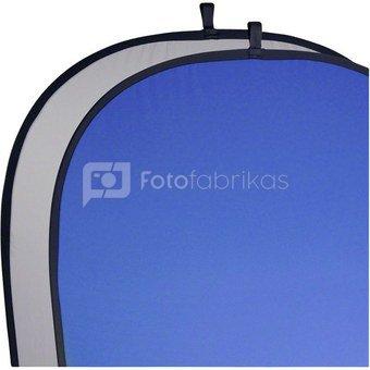 Walimex Foldable fonas pilkas/blue, 150x200cm