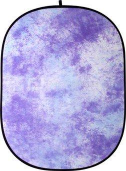 Walimex Foldable fonas lilac batic, 146x200cm