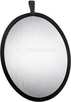 walimex Foldable Reflector silver/white, 56cm