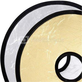 walimex Lens Reflector silver/golden, 30cm