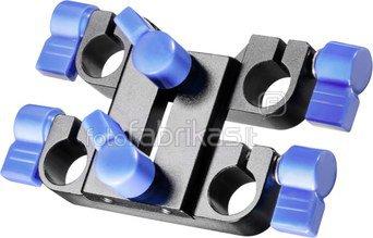 walimex pro 15mm Double Clamping Block for Video Rig