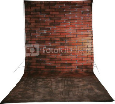 walimex pro Cloth Background Bricks, 3x6m