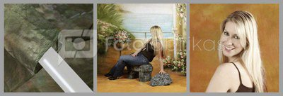 walimex pro Cloth Background Romance, 3x6m