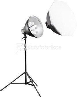 walimex pro Daylight Set 1260 with Softbox, 80cm