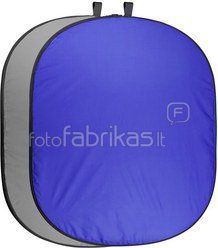walimex pro Foldable Background 200x230 blue/grey
