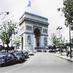 walimex pro Hintergrund 3x6m Fotomotiv Paris