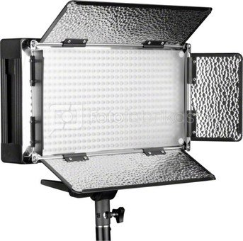 walimex pro LED 500 Fluorescent Light + WT-806 Lamp Tripod