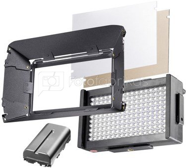 walimex pro LED Foto/Video Square 170 B