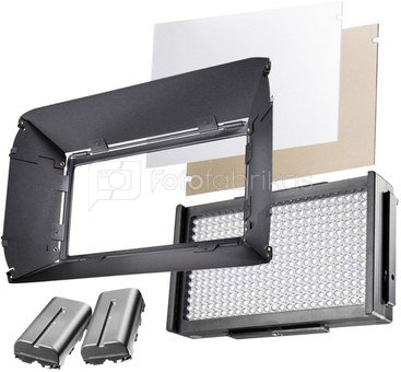 walimex pro LED Foto/Video Square 312 D