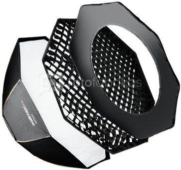 walimex pro Octagon Softbox PLUS Orange Line 90