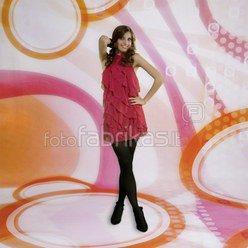 walimex pro Photo Motif Background Oranje, 3x6m