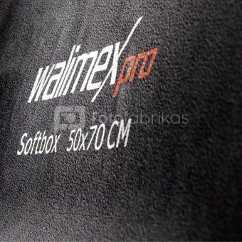 walimex pro Softbox PLUS Orange Line 50x70