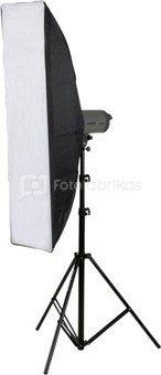 Walimex pro Studioset VC-200 + Striplight 30x120cm