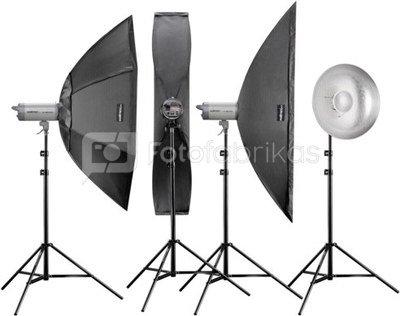 Walimex pro Studioset VC-400/300/300/200 PLUS