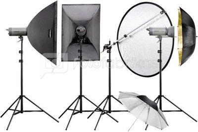 Walimex pro Studioset VC-400/400/300