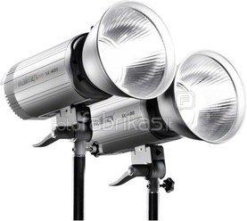 Walimex pro Studioset VC-400/400 + Softboxes + Umbrellas
