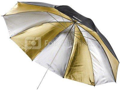 walimex Reflex Umbrella Dual gold/silver 2 lay, 150cm