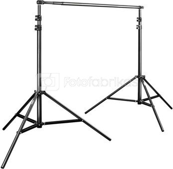 walimex TELESCOPIC Background System, 120-307cm