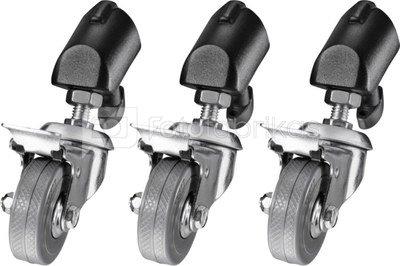 walimex Tripod Wheels Pro set of 3