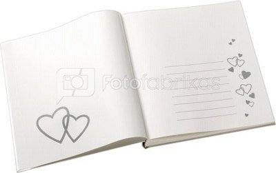 Walther Amore Guestbook 23x25 144 pages GB121