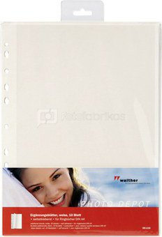 Walther Photo Papers 10 pages self-adhesive, white DS118
