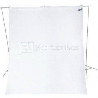 Westcott Wrinkle Resistant 2.7 x 3.0m High Key White Backdrop