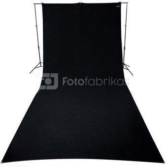 Wrinkle Resistant Backdrop Black (6,1 x 2,7)